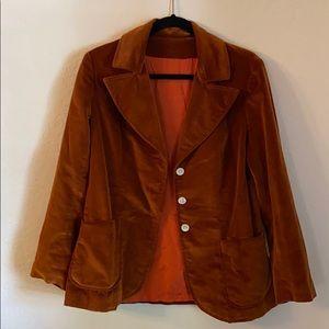 Vintage suede blazer